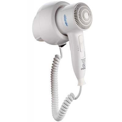 Secador de cabelo de parede para banheiro